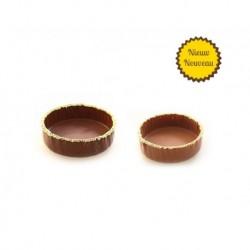Schokoladenkörbe mit Frühlingsmuskete