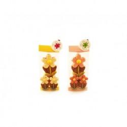 """Beutel Flower Marie Milch / Caraques """"TréZor"""""""
